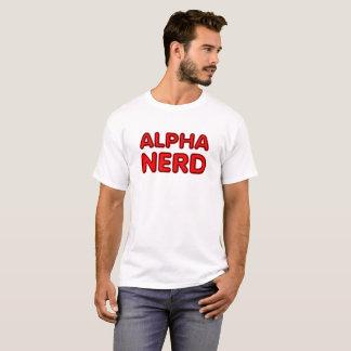 Alpha T-shirt drôle nerd