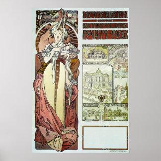 Alphonse Mucha. 1900 Posters