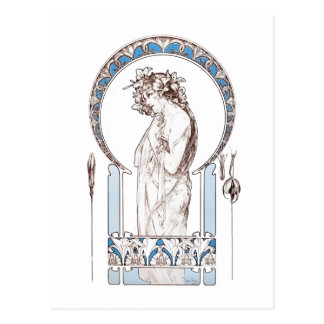 Alphonse Mucha - cartes de Decoratifs de documents