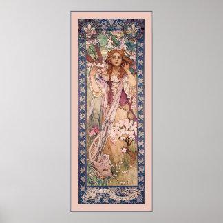 ~ Alphonse Mucha de Jeanne d'Arc Poster
