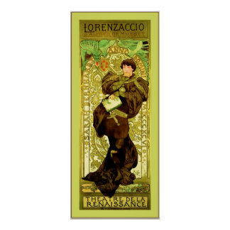 ~ Alphonse Mucha de Lorenzaccio Poster