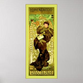 ~ Alphonse Mucha de Lorenzaccio Posters