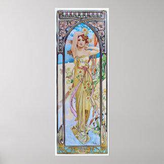 Alphonse Mucha. Eclat Du Jour/aube, 1899 Posters