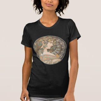 Alphonse Mucha - Erin T-shirt
