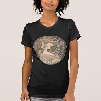 Alphonse Mucha - Erin T-shirts