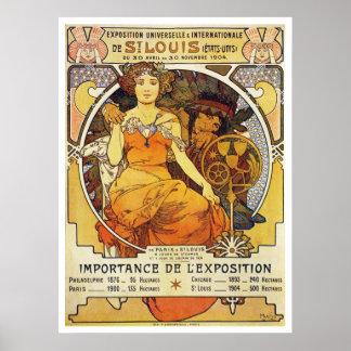 Alphonse Mucha. Expo 1903 de St Louis Posters