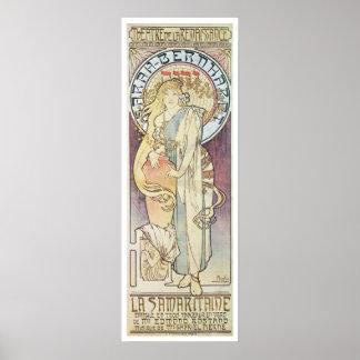 Alphonse Mucha. La Samaritaine, 1897 Posters