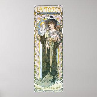 Alphonse Mucha. La Tosca, 1899 Posters