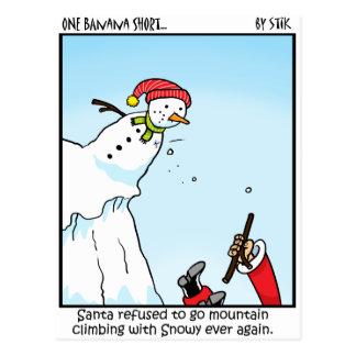 Alpinisme de Père Noël Cartes Postales