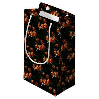alstroemère petit sac cadeau