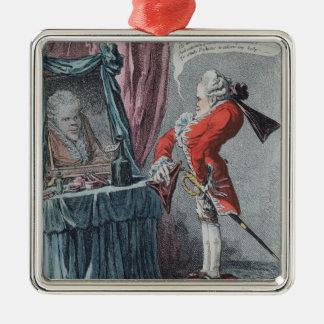 Altitude noble, pub. par Hannah Humphrey, 1802 Ornement Carré Argenté