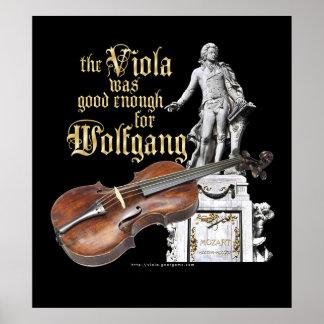 Alto et Mozart Posters