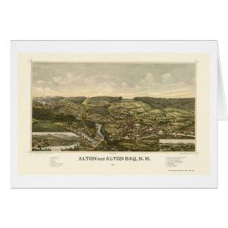 Alton, carte panoramique de NH - 1888