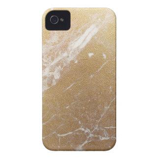 aluminium de marbre d'or coque Case-Mate iPhone 4
