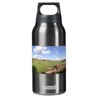 Aluminium panoramique personnalisé de photo bouteilles isotherme