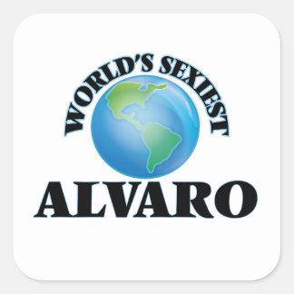 Alvaro le plus sexy du monde sticker carré