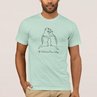 AM. Lt #TablessThursday GreenShirt de Meerkat T-shirt