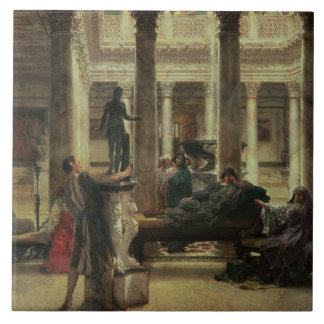 Amant d'art romain d'Alma-Tadema |, 1870 Grand Carreau Carré