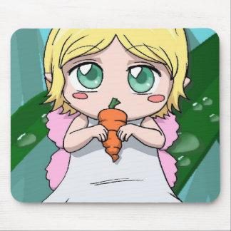 Amant de carotte de Manga Tapis De Souris