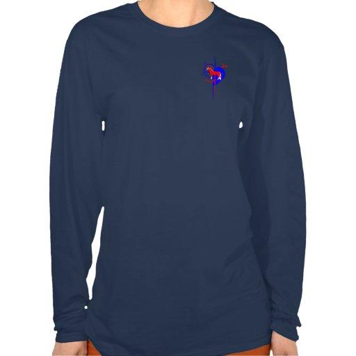 Amant de cheval de Haflinger T-shirts