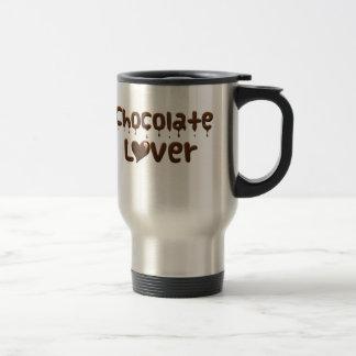 Amant de chocolat mug de voyage