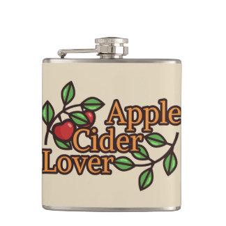 Amant de cidre d'Apple Flasques
