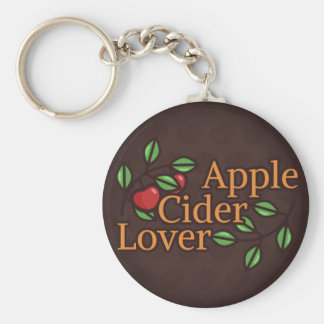 Amant de cidre d'Apple Porte-clés