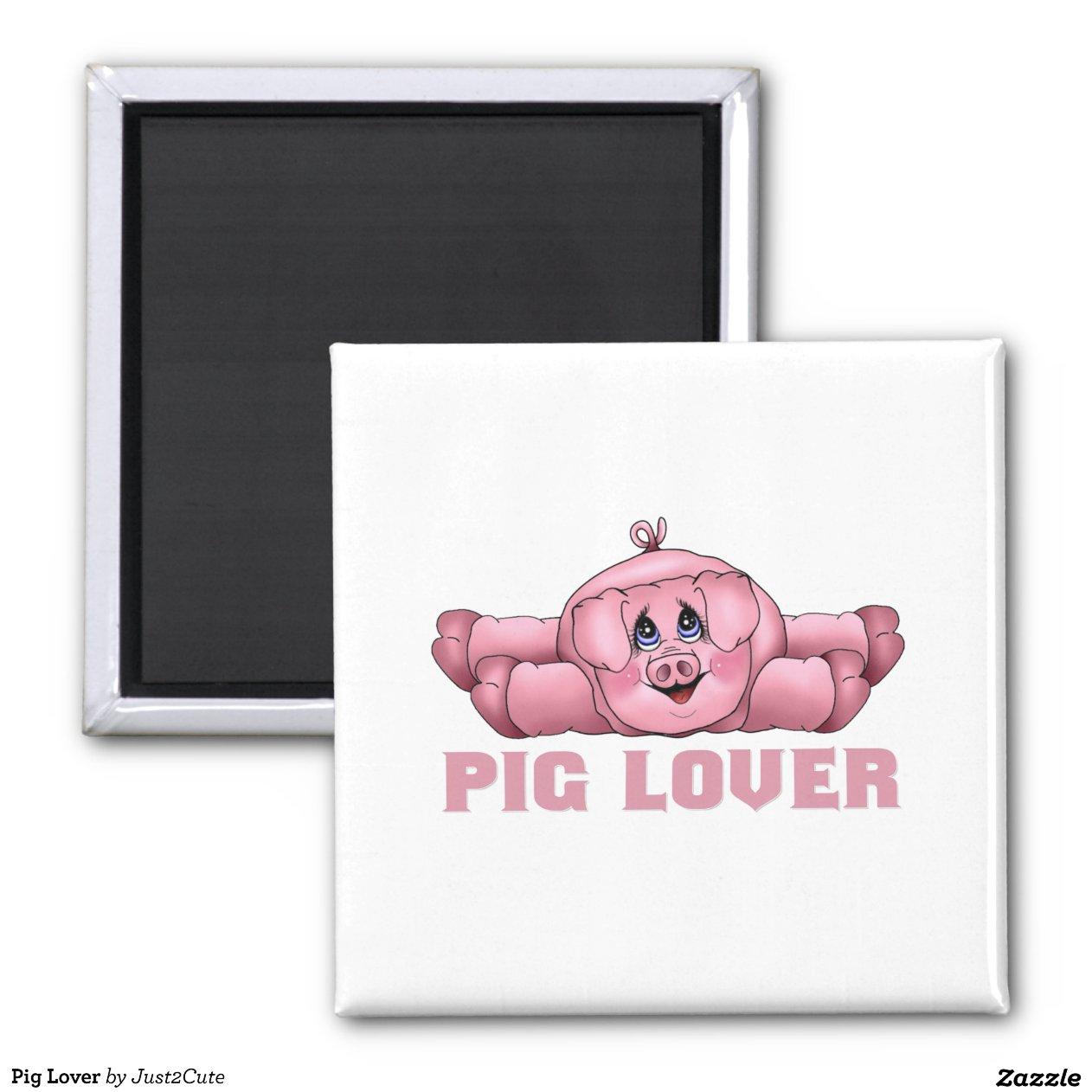 Amant De Porc Magnet Carr 233 Zazzle