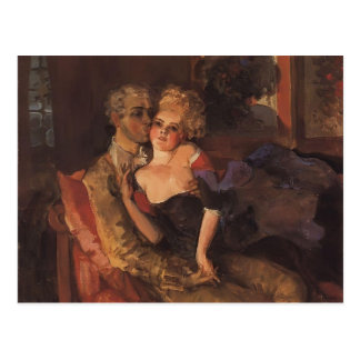 Amants de Konstantin Somov-. Même Carte Postale