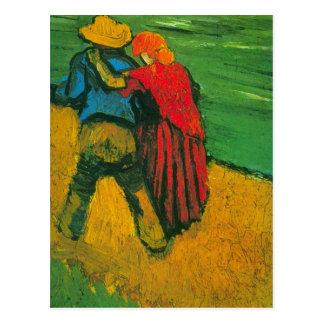 Amants de Van Gogh deux Cartes Postales