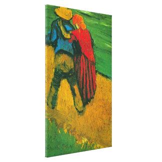 Amants de Van Gogh deux Toiles