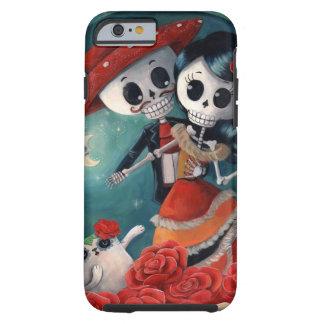 Amants mexicains squelettiques morts