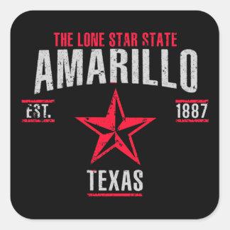 Amarillo Sticker Carré