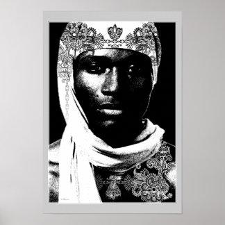 Amarre de l'Afrique du Nord Posters