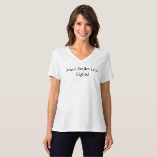 Amarrez/plus de sourire moins de combats F9 T-shirt