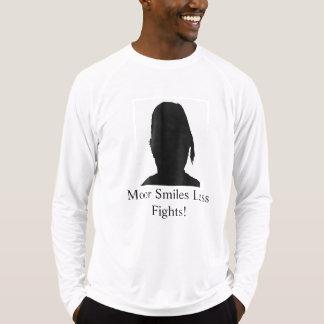 Amarrez/plus de sourire moins de combats M4 T-shirt