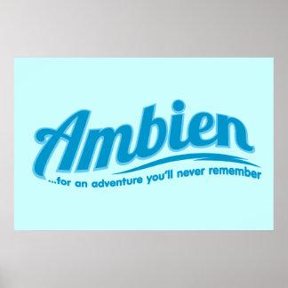 Ambien : Pour une aventure vous ne vous rappellere Affiche
