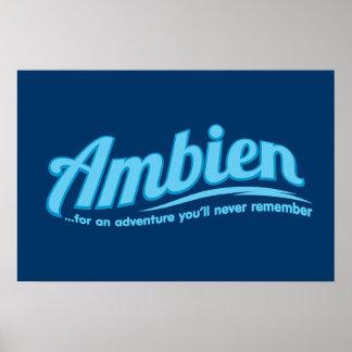 Ambien : Pour une aventure vous ne vous rappellere Poster