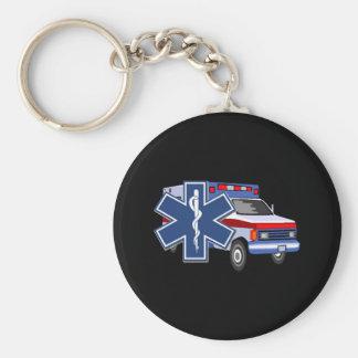Ambulance de SME Porte-clé Rond