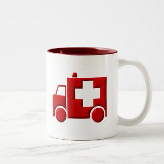 Ambulance/EMT Tasse 2 Couleurs