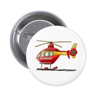Ambulance médicale d'hélicoptère de délivrance de  badges