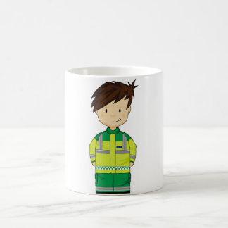 Ambulance mignonne EMT de bande dessinée Mug