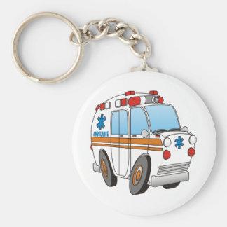 Ambulance Porte-clé Rond