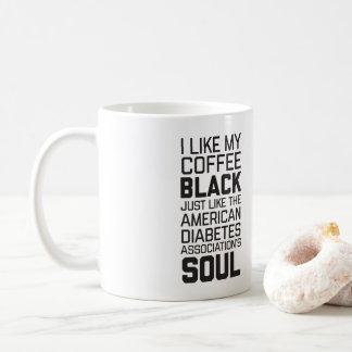 Âme du café noir d'humanité d'Agains de Mug