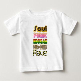 Âme, trouille, reggae, hip-hop, éloge t-shirt pour bébé