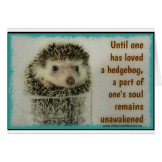 Âme Unawakened - carte d'anniversaire