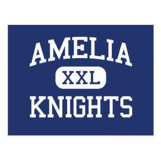 Amelia adoube le collège Batavia Ohio Carte Postale