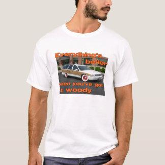 Améliorez avec un T-shirt boisé