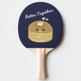 Améliorez ensemble le fin gourmet drôle de beurre raquette tennis de table