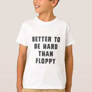 Améliorez pour être dur que le disque souple t-shirt
